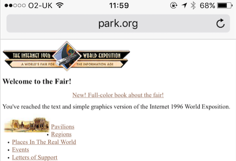 Internet 1996 World Exposition