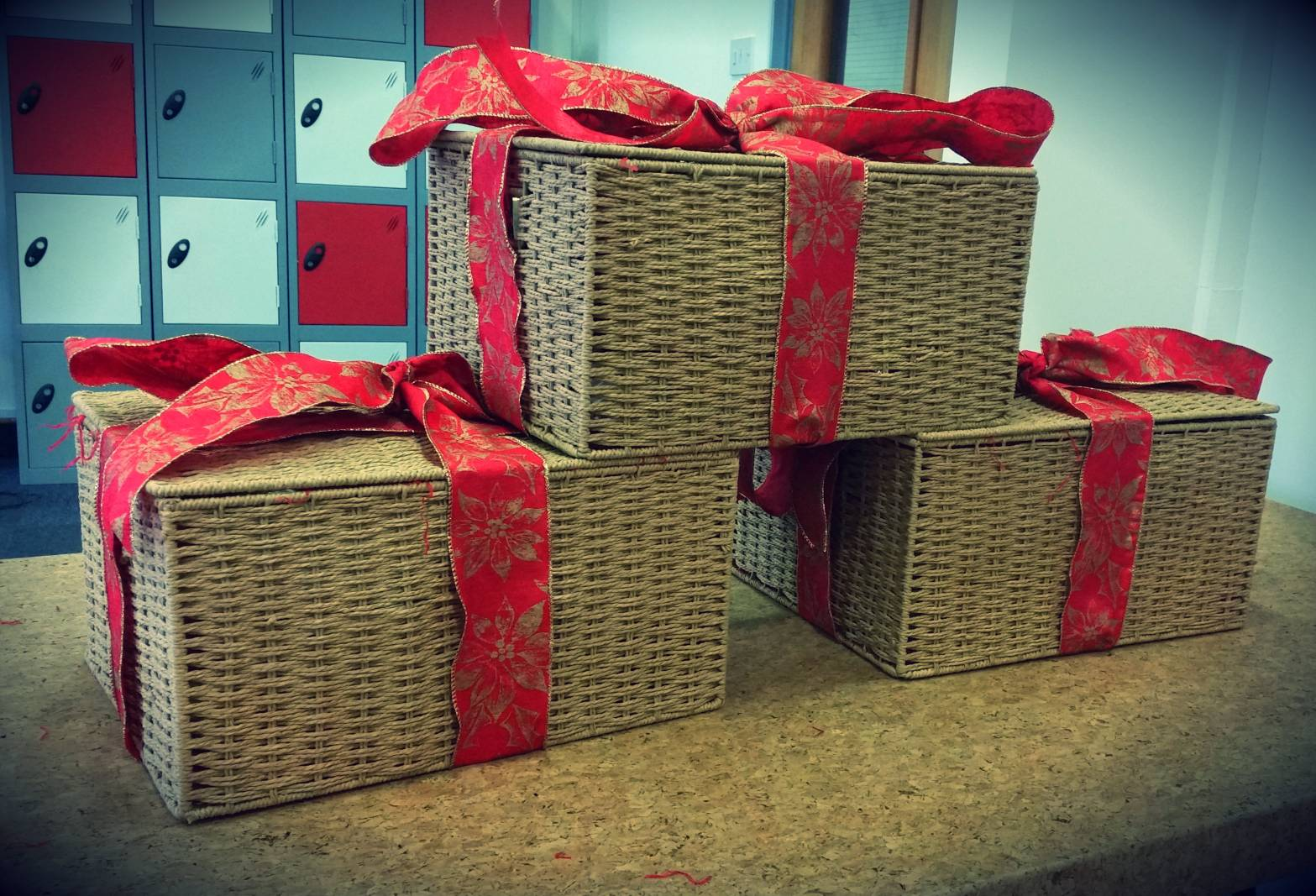 The hampers we made for Holbeck Elderly Aid