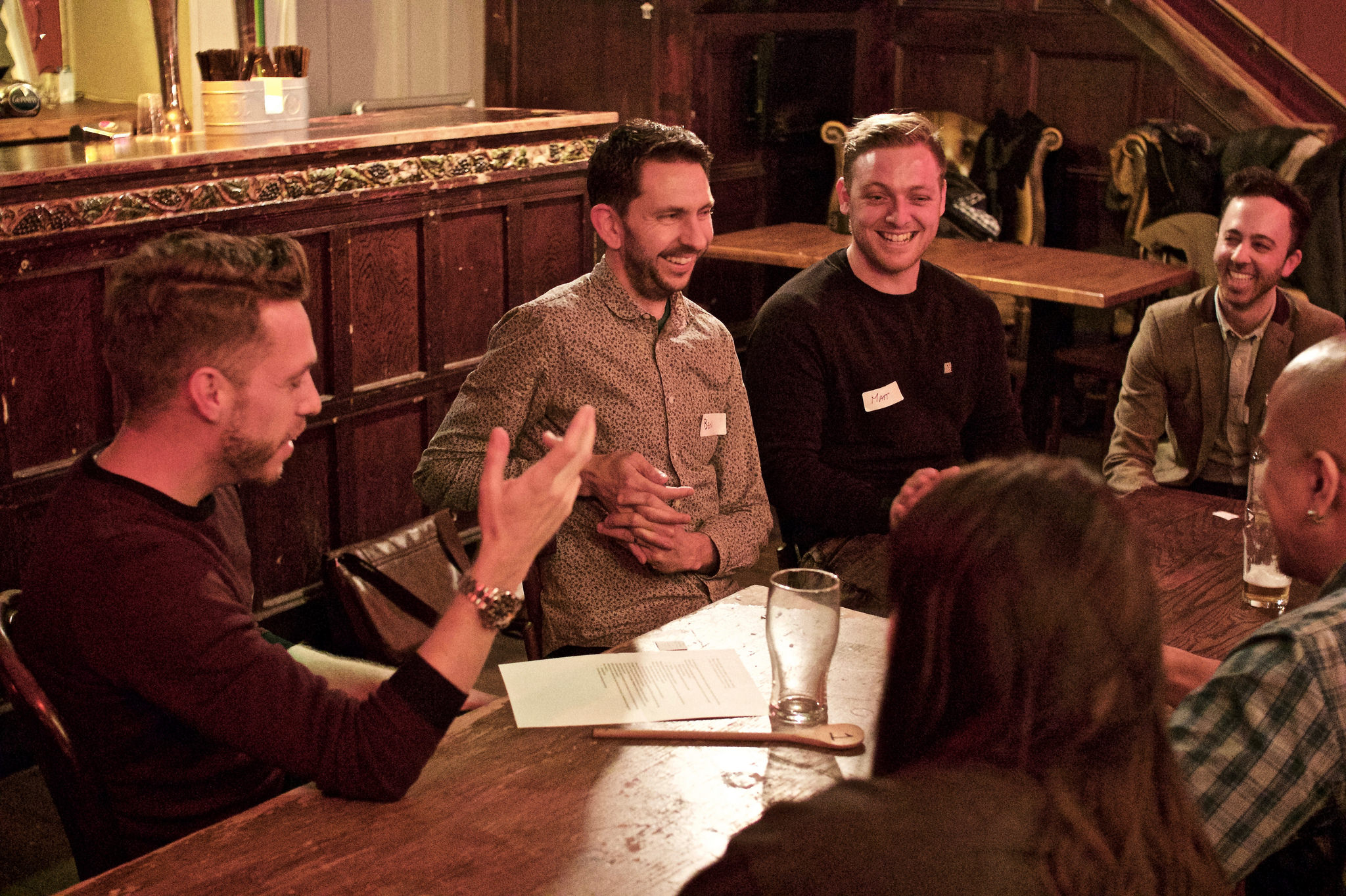 Photo from the first ever Take It Offline event. Photo by Clive Jarman.