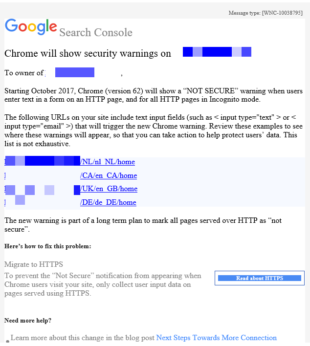 Google ramps up HTTPS efforts with Chrome warnings - SALT