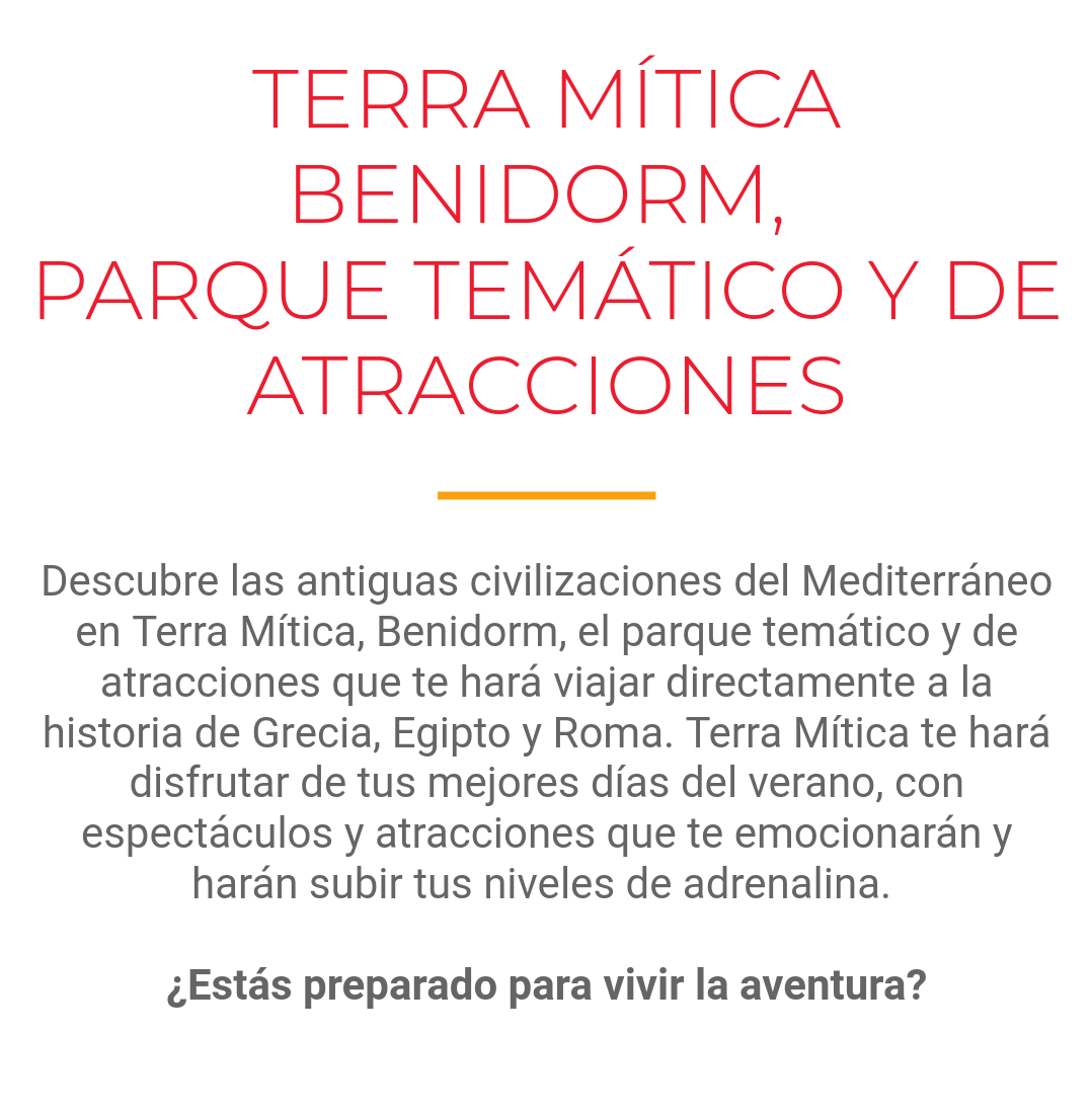 Spanish text for theme park