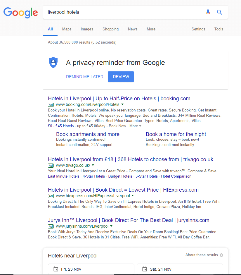 Google-Search-Results-Hotels