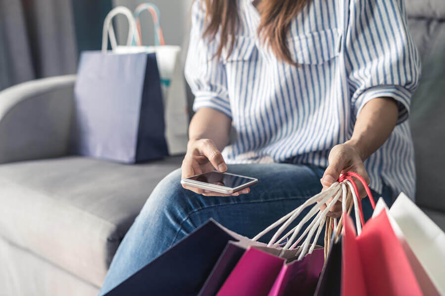 Mobile shopping is becoming increasingly important.