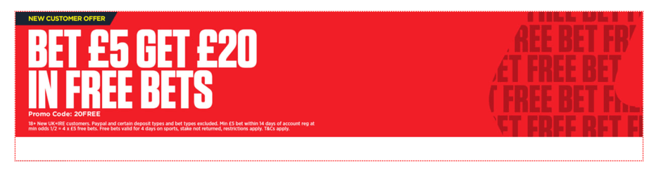 Ladbrokes CTA banner screenshot.