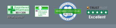 chemistdirect footer links screenshot