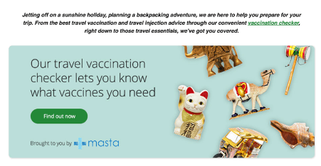 lloyds pharmacy vaccination landing page