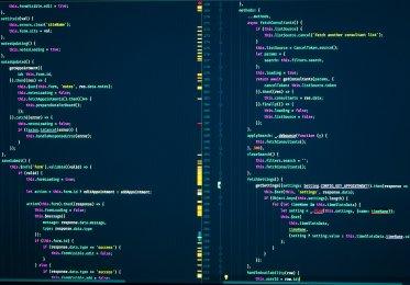 Javascript code onscreen