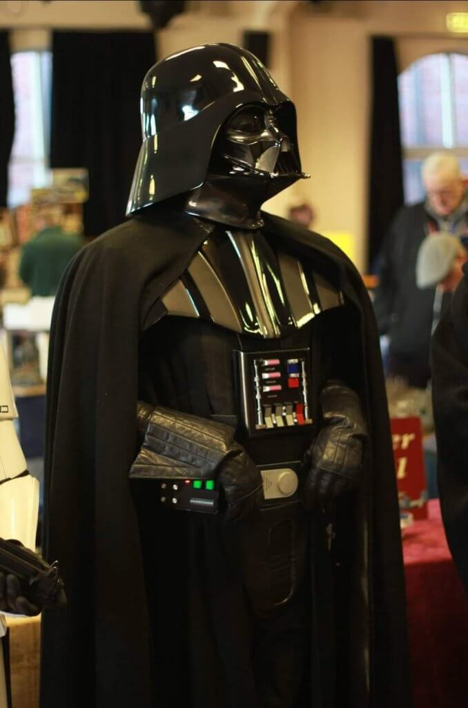 Stephen Robb in his Darth Vader costume for 501st UK Garrison